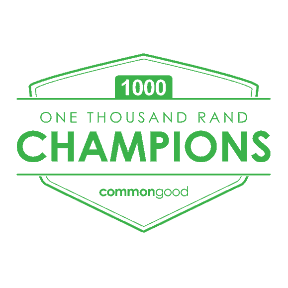 Donor Programmes - R1000 Champions